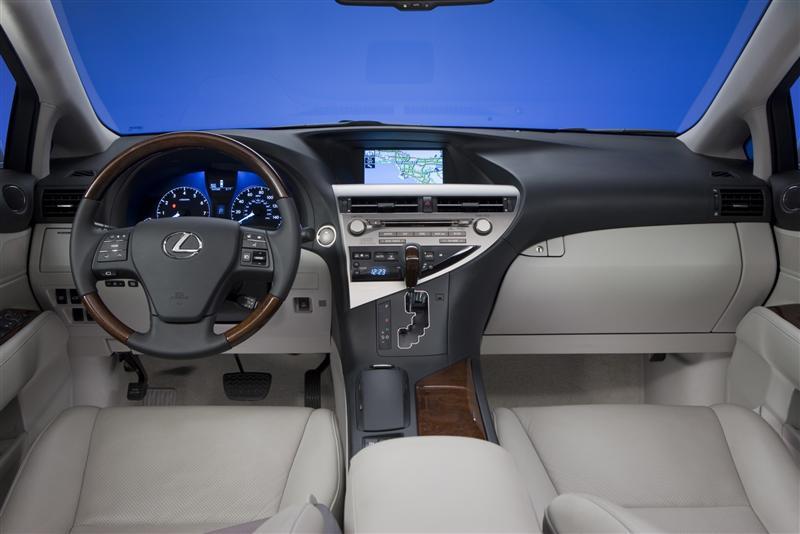 Lexus RX 350 modelo 2011: ficha técnica, imágenes y lista ...
