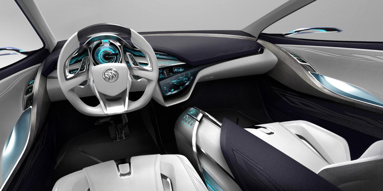 interior del buick envision concept lista de carros. Black Bedroom Furniture Sets. Home Design Ideas