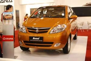 Changan Benni 2011: ficha técnica, imágenes y lista de rivales