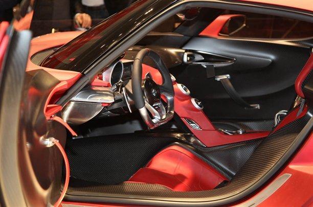 Alfa Romeo 4c Concept Interior Interior Del Alfa Romeo 4c