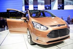 El Ford B-Max llegará en el 2012