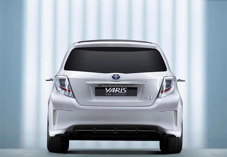 el toyota yaris hsd concept llegar en el 2012 lista de carros. Black Bedroom Furniture Sets. Home Design Ideas