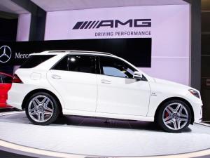 Mercedes Benz ML63 AMG 2012