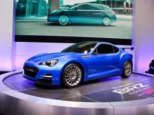 Salón de Los Ángeles 2011: Subaru BRZ Concept STI