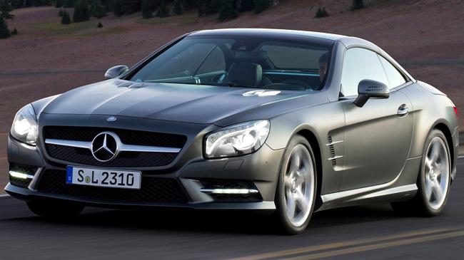 Mercedes benz sl 2012 caracter sticas precio y rival for Carros mercedes benz precios