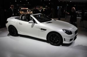 Mercedes Benz SLK 55 AMG: el más potente de la gama SLK