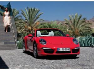 Porsche 911 Carrera Cabriolet 2012