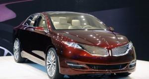 Salón de Detroit 2012: Lincoln MKZ Concept