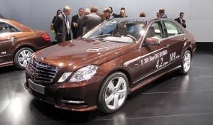 Mercedes Benz Clase E 300 Bluetec Hybrid (imágenes y datos)