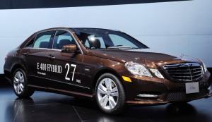Salón del Automóvil de Detroit 2012: Mercedes Benz Clase E 400 Hybrid