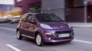 Peugeot 107 2012: ficha técnica, imágenes y lista de rivales