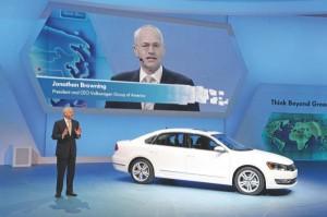 Salón de Detroit 2012: Volkswagen Jetta VI Híbrido (imágenes y datos)