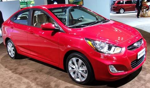 Hyundai Del Rio >> Hyundai Accent Sedán 2012: precio, ficha técnica, imágenes y lista de rivales | Lista de Carros