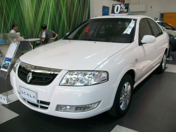 Renault Scala on 2012 Hyundai Elantra