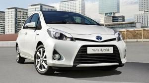 Presentan el Toyota Yaris Hybrid