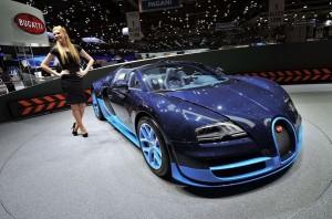 Salón de Ginebra 2012: Bugatti Veyron Grand Sport Vitesse (imágenes y datos)