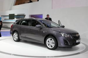 Salón de Ginebra 2012: Chevrolet Cruze Station Wagon (imágenes y datos)