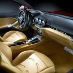 Interior del Ferrari F12 Berlinetta
