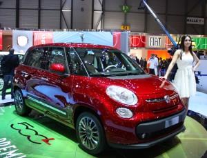 Salón de Ginebra 2012: Fiat 500L (imágenes en vivo)