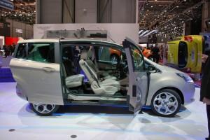 Ford B-Max: imágenes y datos desde el Salón de Ginebra 2012
