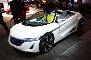 Salón de Ginebra 2012: Honda EV-Ster Concept (imágenes y datos)