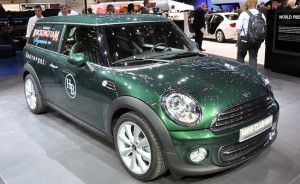 Salón de Ginebra 2012: MINI Clubvan Concept