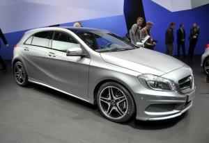 Salón de Ginebra 2012: Mercedes Benz Clase A 2012 (imágenes en vivo)