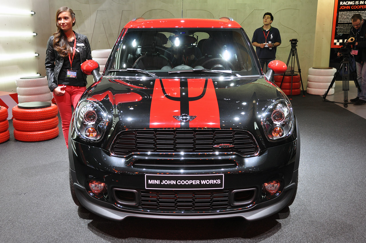 sal n de ginebra 2012 mini countryman john cooper works lista de carros. Black Bedroom Furniture Sets. Home Design Ideas