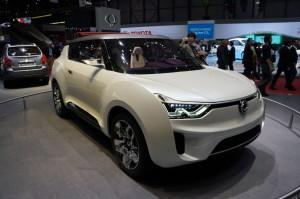 Salón de Ginebra 2012: Nuevo SsangYong XIV-2 Concept