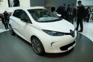 Salón de Ginebra 2012: carro eléctrico Renault Zoe 2012 (imágenes y datos)