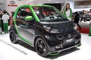 Smart ForTwo Brabus electric drive en el Salón de Ginebra 2012
