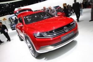Volkswagen Cross Coupé Concept en vivo desde el salón de Ginebra 2012