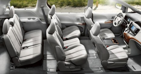 toyota sienna 2012 precio ficha t cnica im genes y lista de rivales lista de carros. Black Bedroom Furniture Sets. Home Design Ideas
