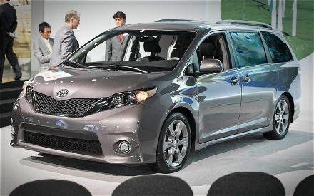 2017 Honda Odyssey Se >> Los rivales de la Toyota Sienna 2012 son el Honda Odyssey, Nissan Questy al Chrysler Town ...