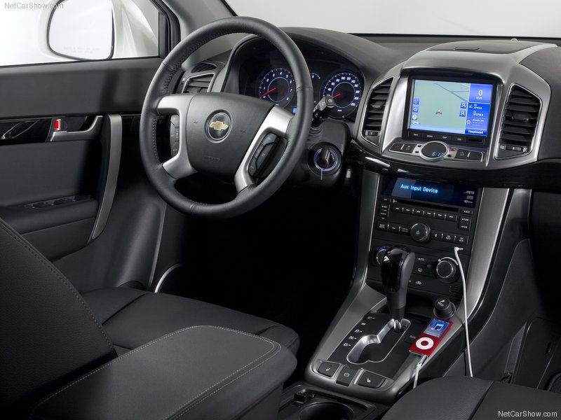 Chevrolet Captiva 2012: precio, ficha técnica, imágenes y ...