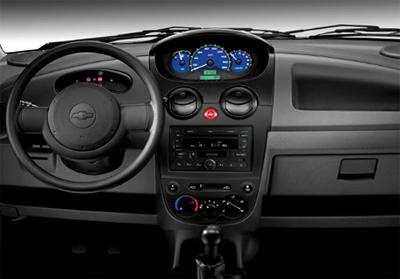 Interior Del Chevrolet Matiz