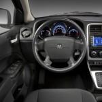 Imágenes del interior del Dodge Caliber 2012