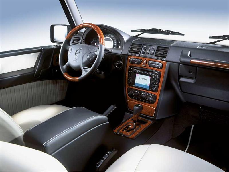 Mercedes benz clase g 55 amg 2012 precio im genes y for Interior clase a