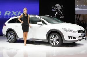 Nuevo Peugeot 508 RXH (imágenes y datos)