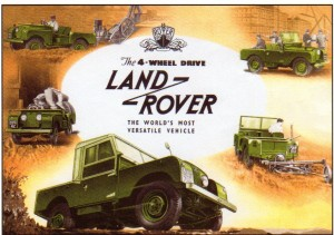 El primer carro de Land Rover fue el Defender