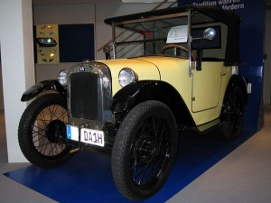 El primer carro de BMW se llamaba Dixi