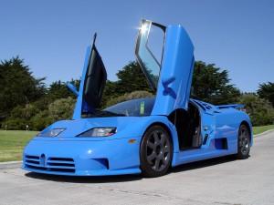 Bugatti EB110: un superdeportivo de 600CV