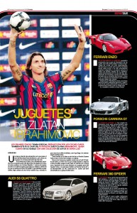El Ferrari Enzo de Zlatan Ibrahimovic