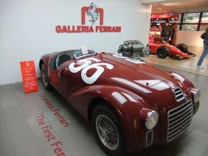 El primer carro de Ferrari fue el 125 S