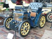 El Fiat 3 ½ HP de 1899 fue el primer carro fabricado por Fiat.