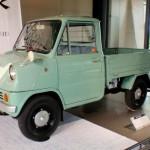 El Honda T 360 era un pequeño pickup con motor de 360 centímetros cúbicos  que generaba 30 caballos de fuerza.