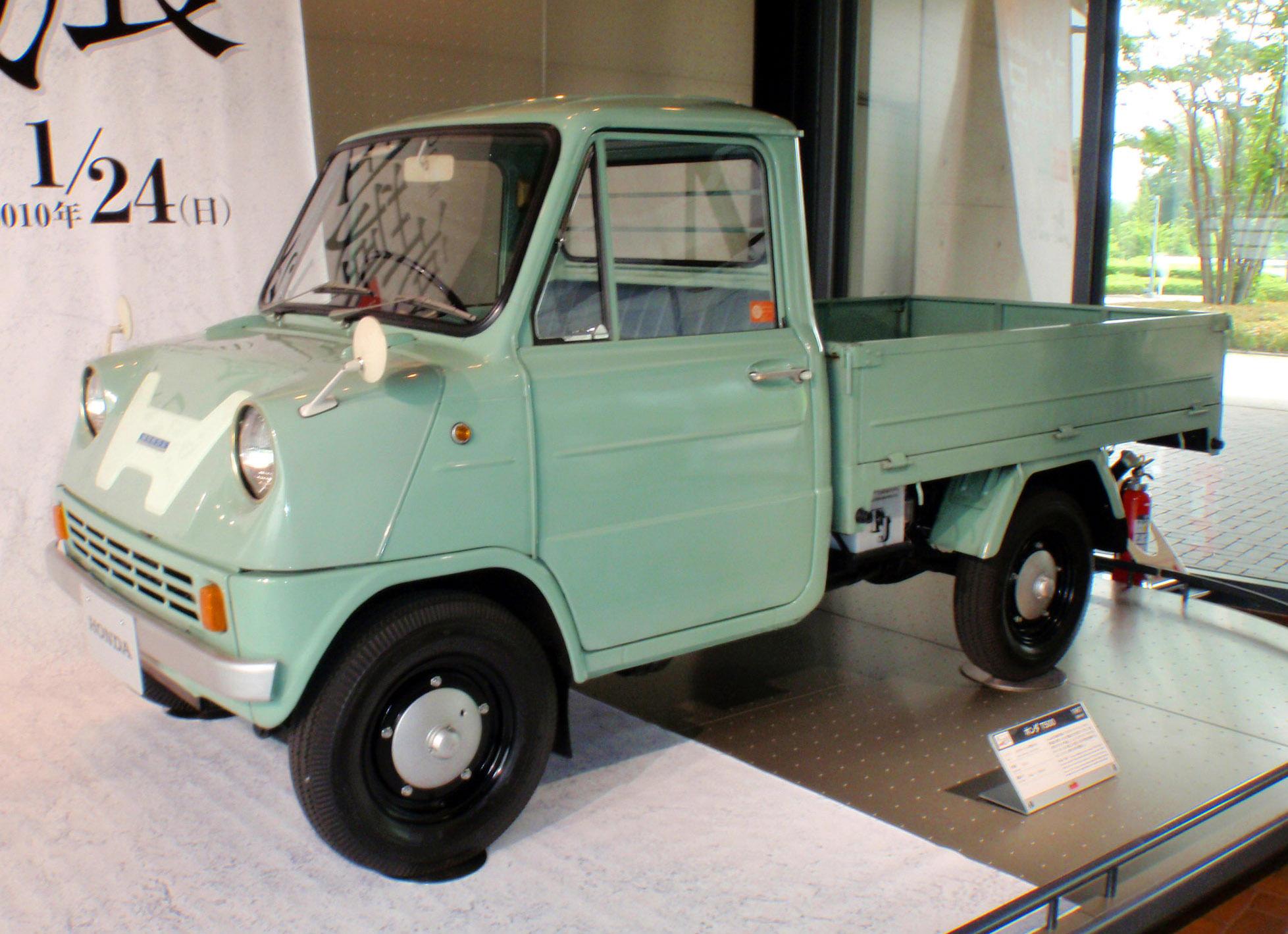 El Primer Carro De Honda Fue El T360