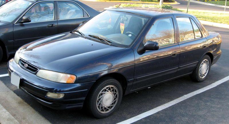 el primer carro de kia fue el sephia lista de carros. Black Bedroom Furniture Sets. Home Design Ideas