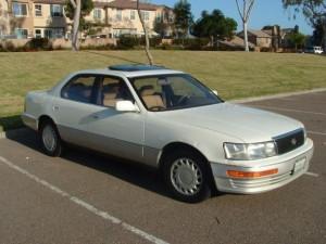 El primer carro de Lexus fue el LS 400 1989