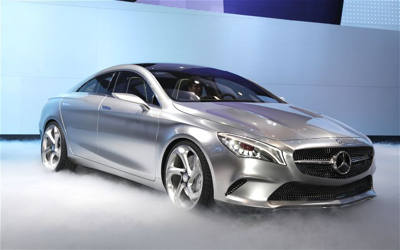 Mercedes benz style coupe concept un coupe de cuatro for Mercedes benz styles